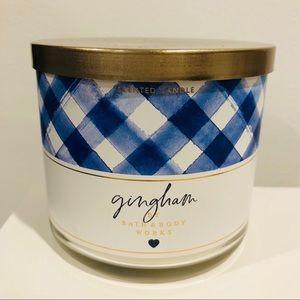 BBW Gingham Candle